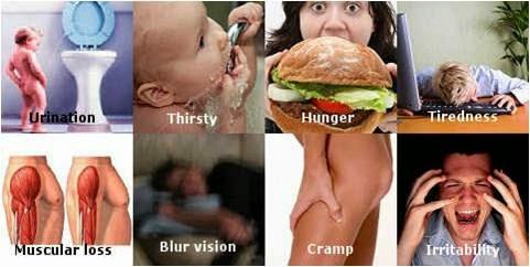 gejala diabetes, tanda-tanda diabetes, indikasi diabetes