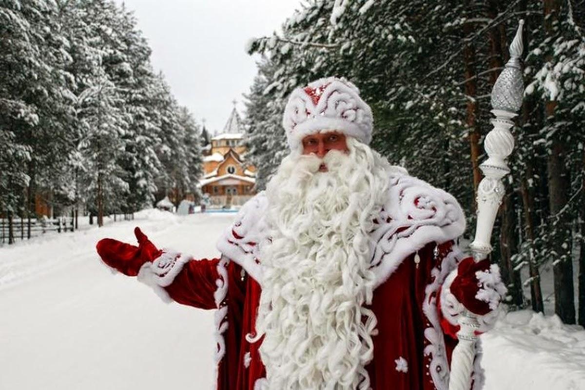 Русский Дед мороз кто такой, от куда взялся, где живет - история Российского Деда Мороза