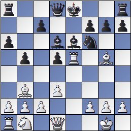 Posición de la partida de ajedrez García Conesa-Segura