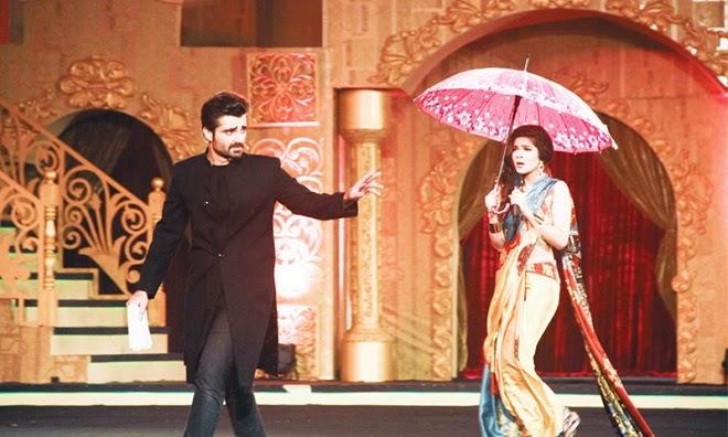 Hamza Ali Abbasi and Ayesha Omar