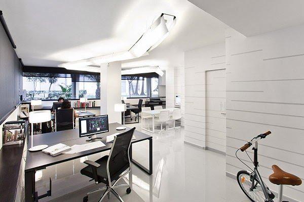 Dom arquitectura dise a su propio estudio en la ciudad de - Despacho arquitectura barcelona ...