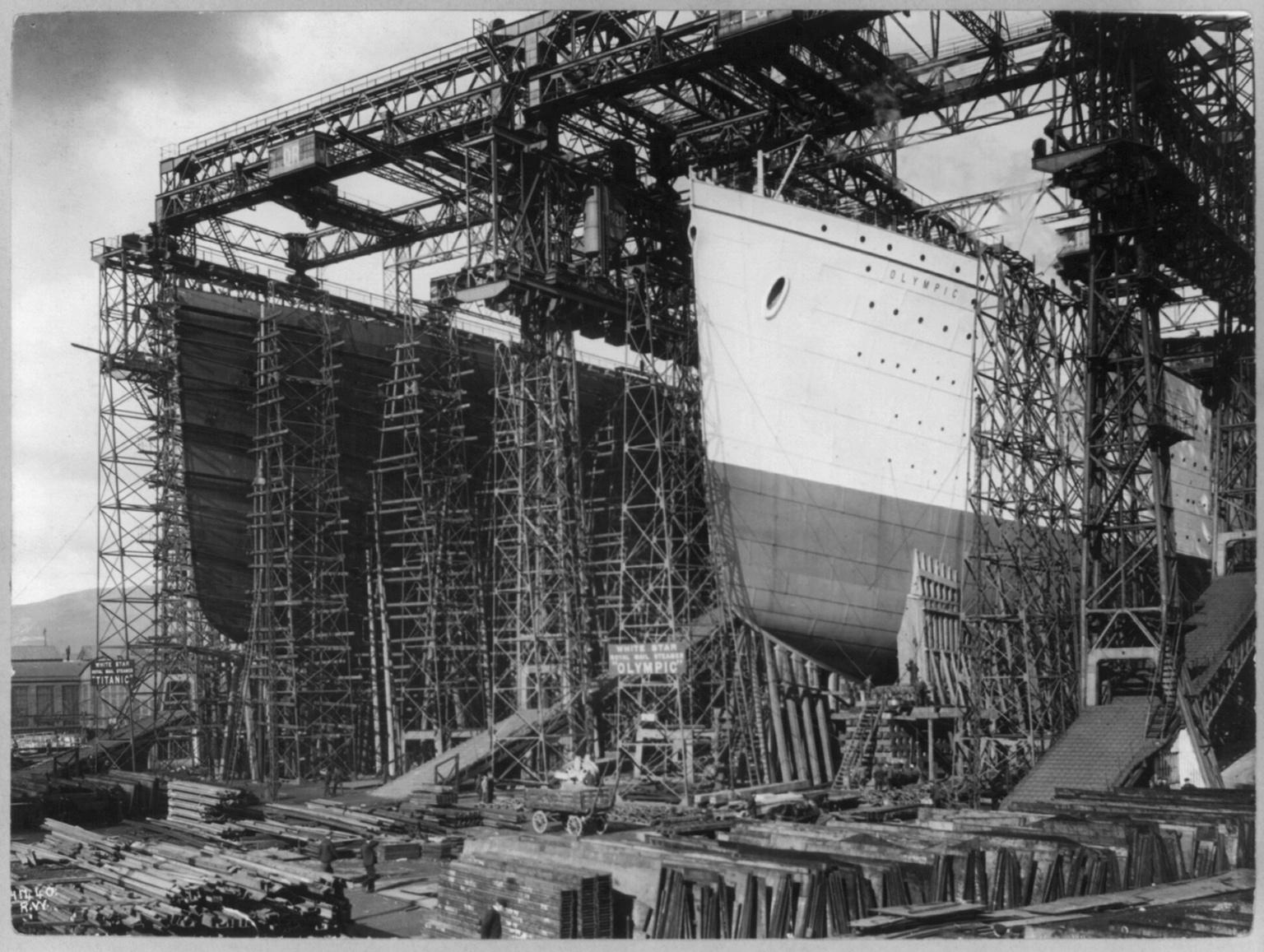 rms titanic interior