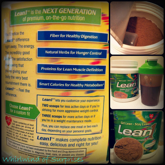 #DRLean1 curbs hunger, burns fat, and promotes lean muscle