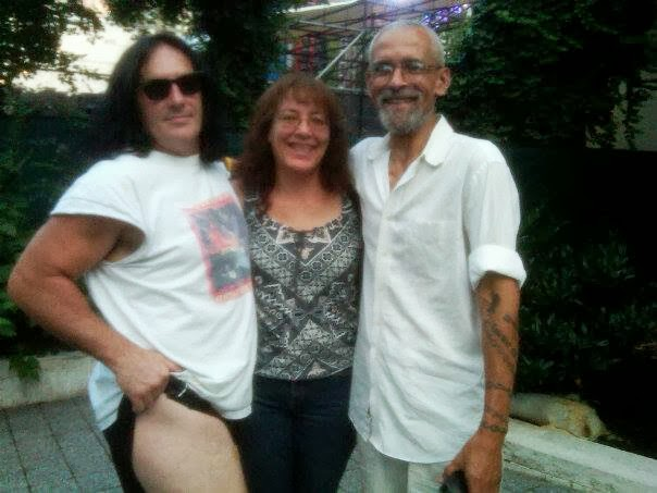 Rick, Deb, and I