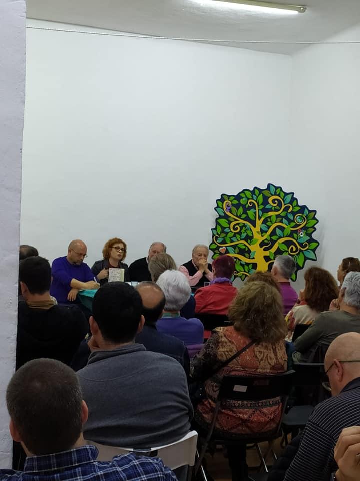 Presentación libro Felipe Alcaraz