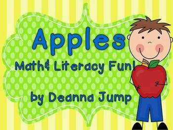 http://www.teacherspayteachers.com/Product/Apples-Math-and-Literacy-Activities-98694