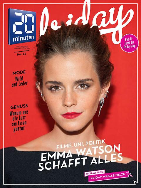 Model, Actress @ Emma Watson - 20 Minuten Magazine May/June 2015