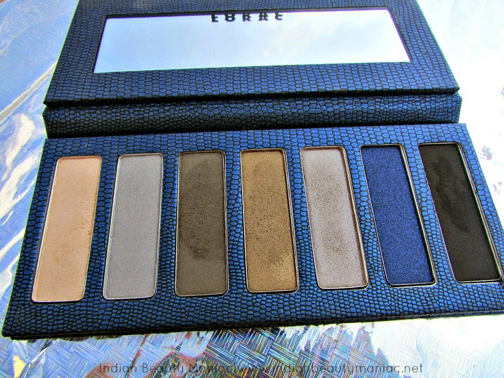 Lorac Skinny Palette, Lorac Palette, LORAC SKINNY PALETTE REVIEW, LORAC REVIEW, LORAC SKINNY PALETTE SWATCHES, NAVY, LORAC EYE SHADOWS, Affordable eye shadows from LORAC, Limited edition Lorac, Review, Swatches, Indian Beauty Blogger, Indian Makeup Blogger