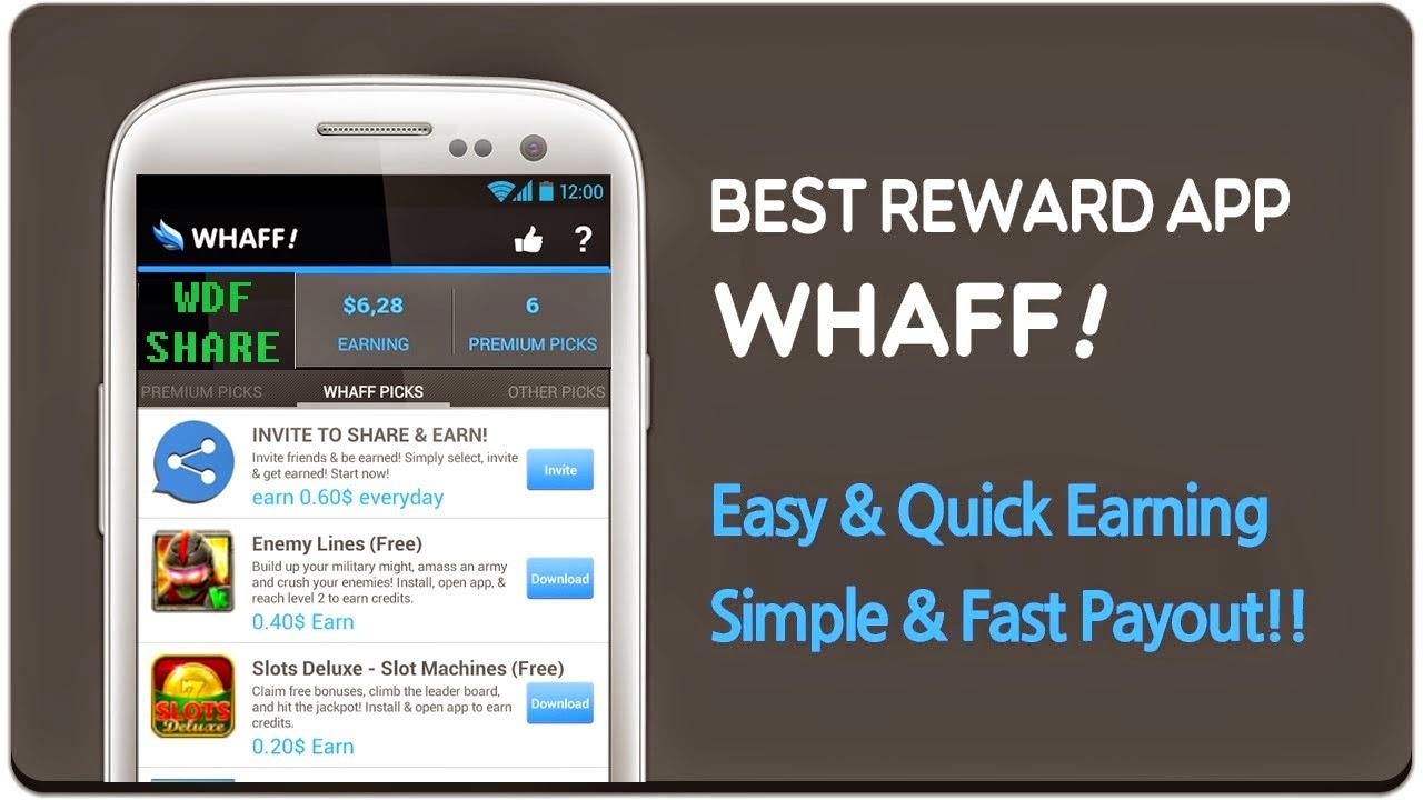 WHAFF REWARD: WHAFF Rewards modded terbaru 2015 , UPDATE!!!!
