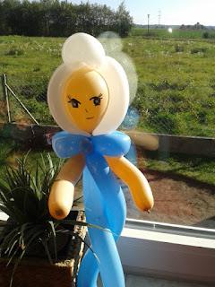 Elsa, die Eiskönigin Ballonfigur
