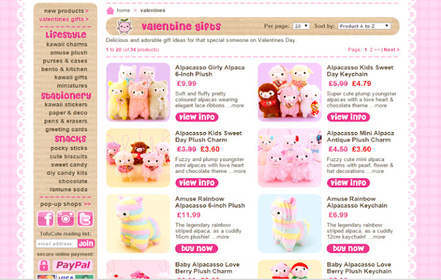 Tofu Cute Official Blog: Valentines Ideas #2