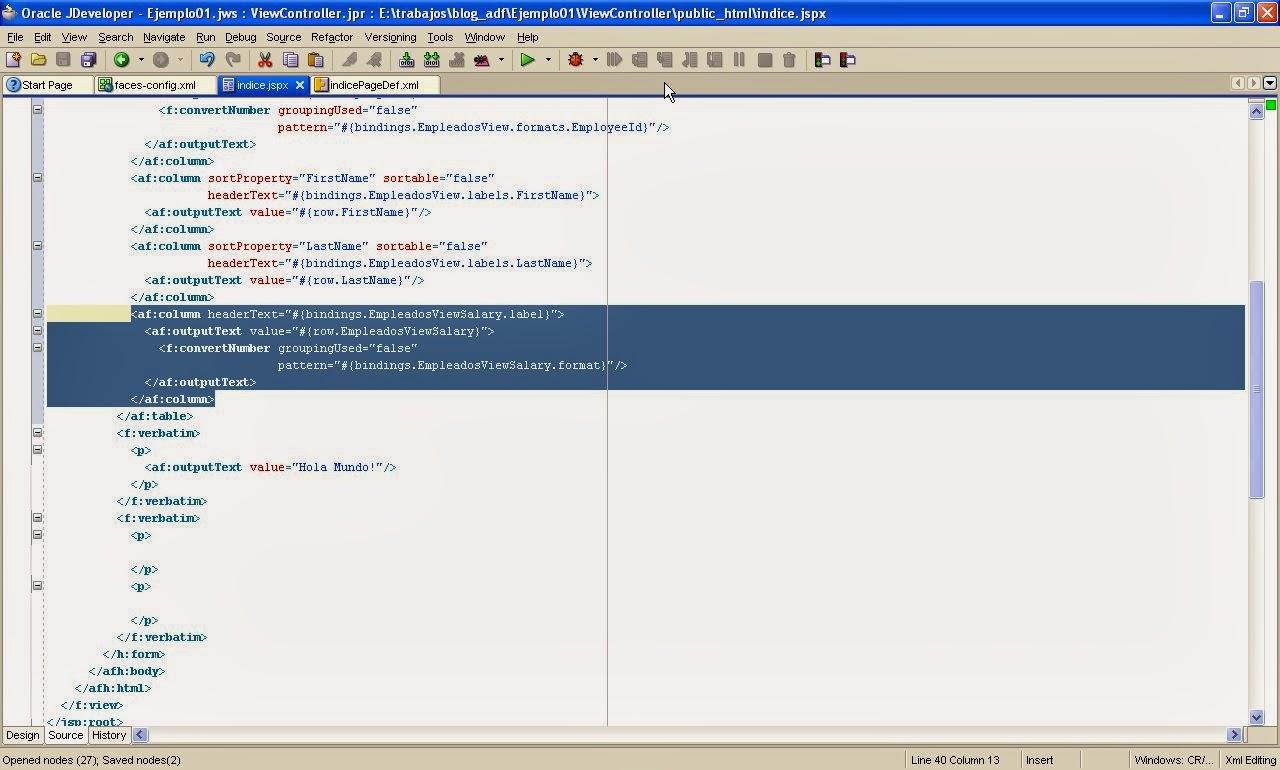 vista codigo fuente jspx