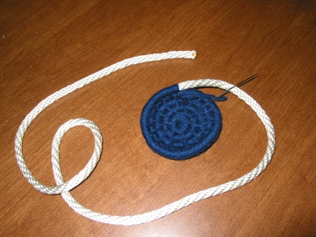 how to make a rope out of yarn