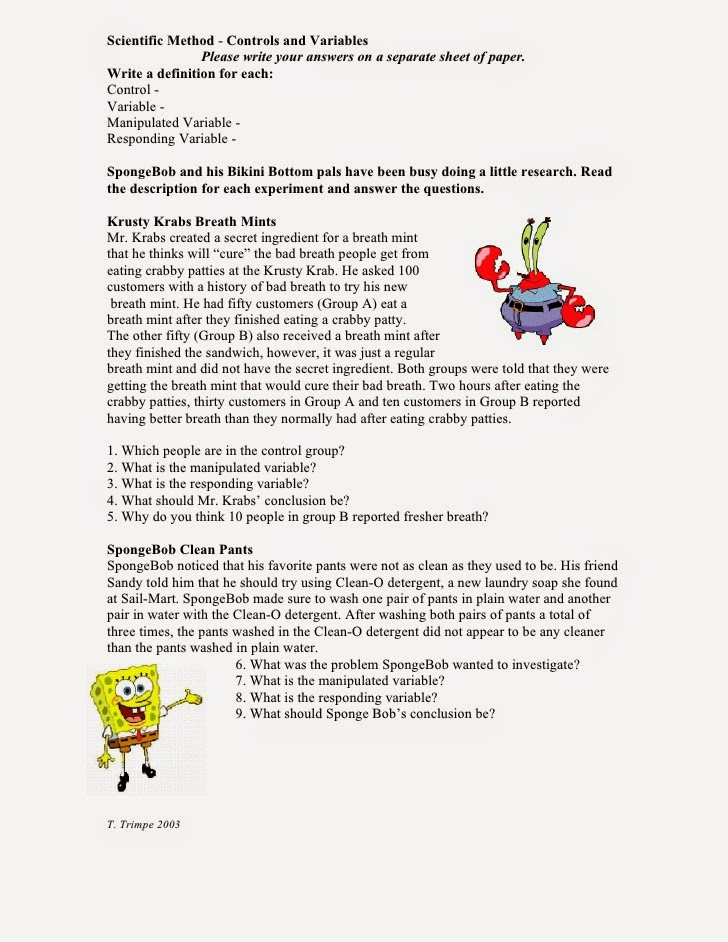 Printables Independent Vs Dependent Variable Worksheet independent vs dependent variable worksheet plustheapp simpsons answers worksheet