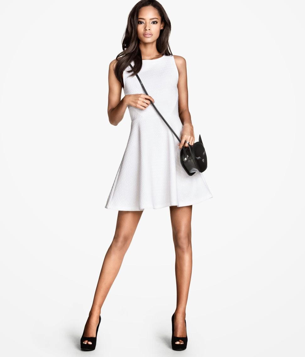 beyaz+minimal H & M 2014 Sommer Kleidung Models