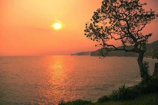 Gunung Kidul with Stunning Sunset beauty