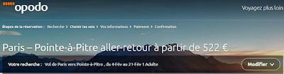 Bons plans voyage Guadeloupe février billets pas chers