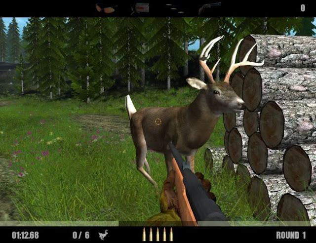 لعبة صيد الحيوانات Deer Drive