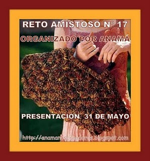 RETO AMISTOSO 17  POR ANAMA!!  CUMPLIDO!!!