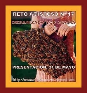 RETO AMISTOSO 17  POR ANAMA!!  CUMPLIDO!!!