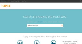 encuentra los Tweets y ReTweets que te interesen en Twitter con Topsy