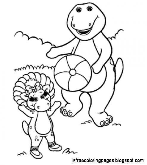 Barney And Friends Coloring Pages | Free Coloring Pages
