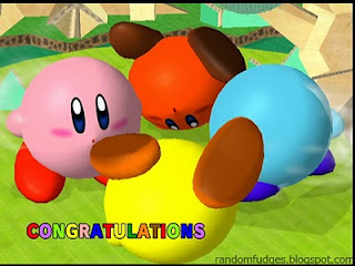 kirby melee classic congratulations