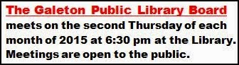 12-8 Galeton Library Board Meeting