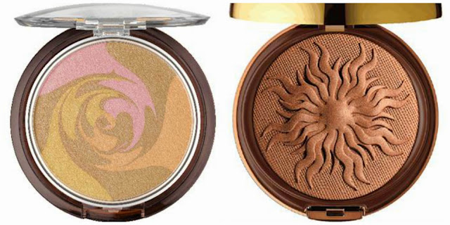 multi colored and solid bronzer