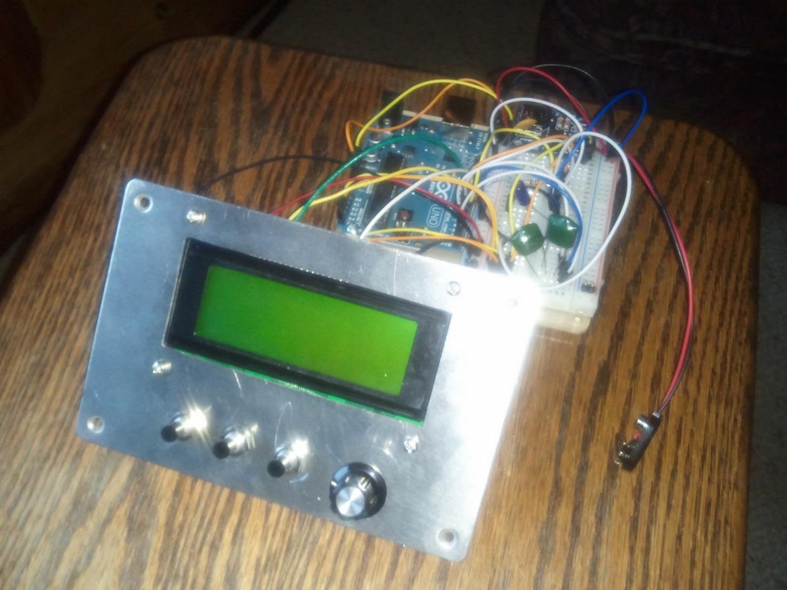 Ko m ham radio trying to spruce up the arduino