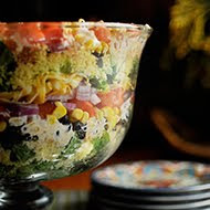 South by Southwest Cornbread Salad