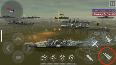 Download Warship Battle - 3D World War II