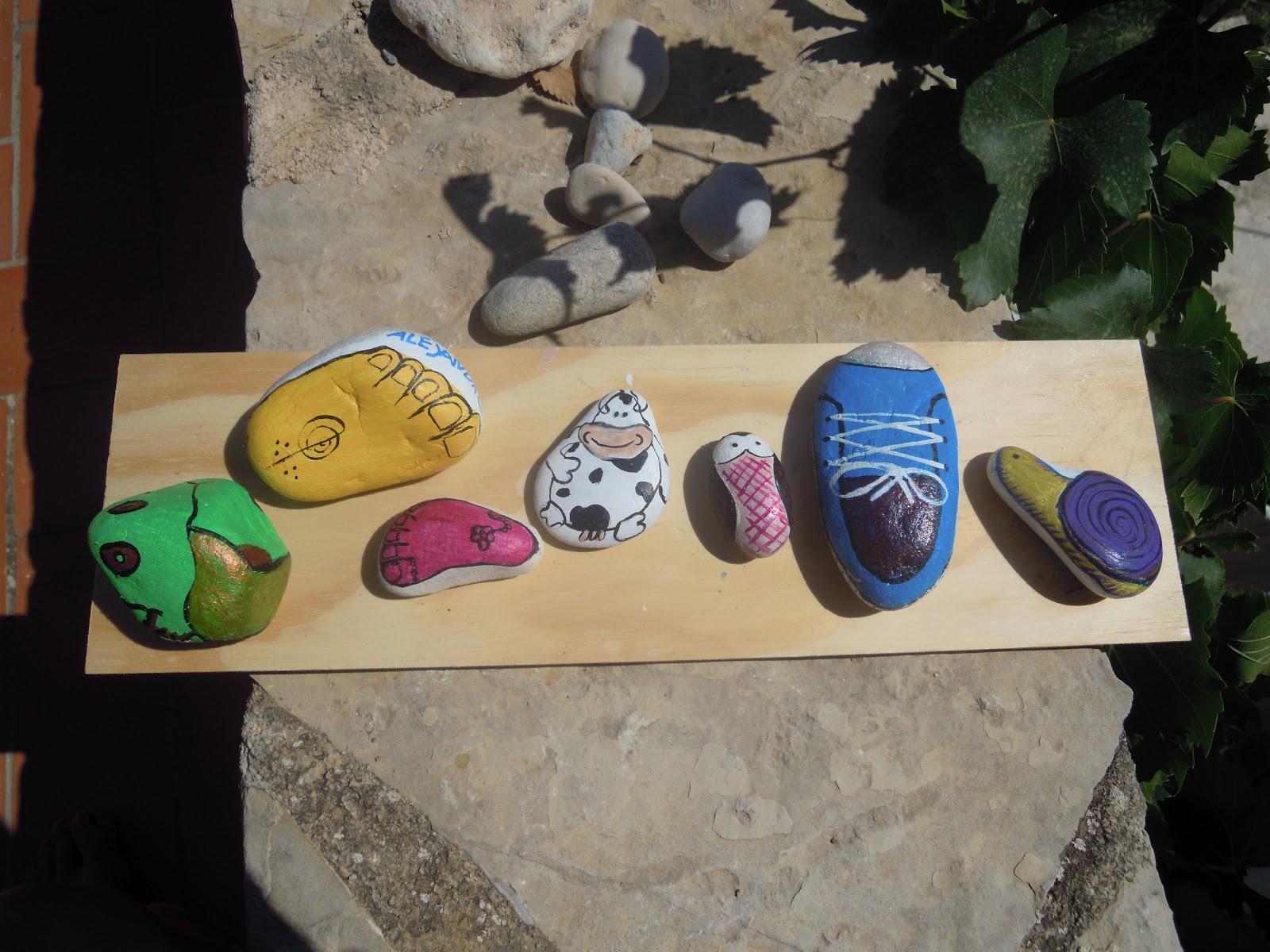 Imagina y a crear piedras pintadas a mano Piedras pintadas a mano
