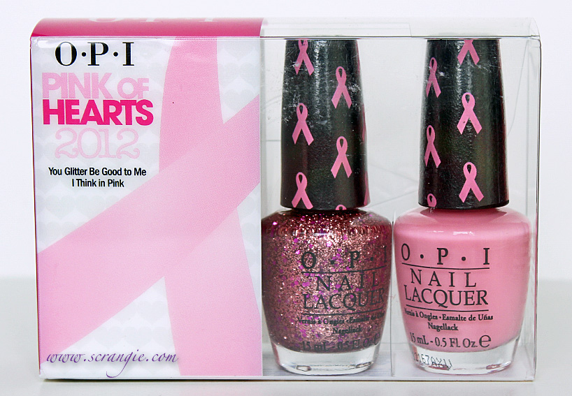 OPI Pink of Hearts 2012 Breast Cancer Awareness Collection Swatches    Opi Pink Of Hearts 2012