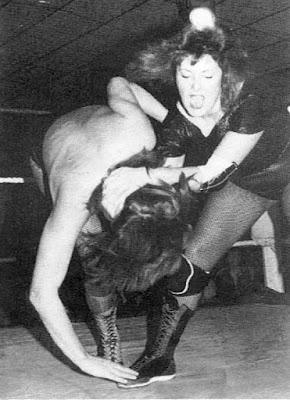 Nicky Monroe vs Rusty Blair - Womens Wrestling UK