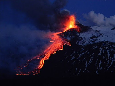 Image of Etna erupting on May 12, 2011, courtesy of Dr. Boris Behncke