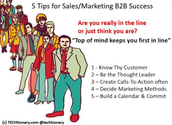 5 tips untuk sales / marketing di B2B