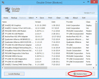 Cara Restore Driver Windows