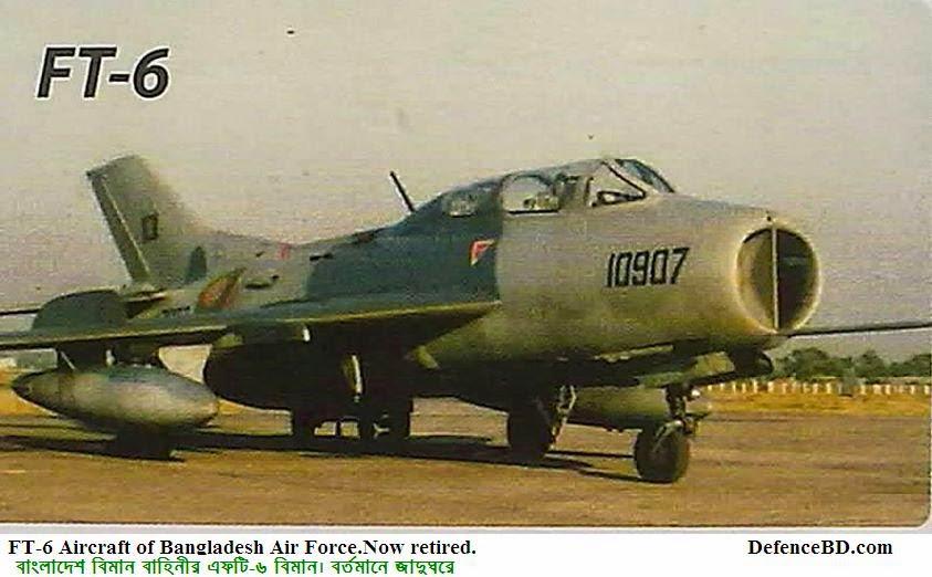 FT-6 Aircraft of Bangladesh Air Force