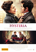 hysteria - a comedy about the birth of the vibrator in victorian england.