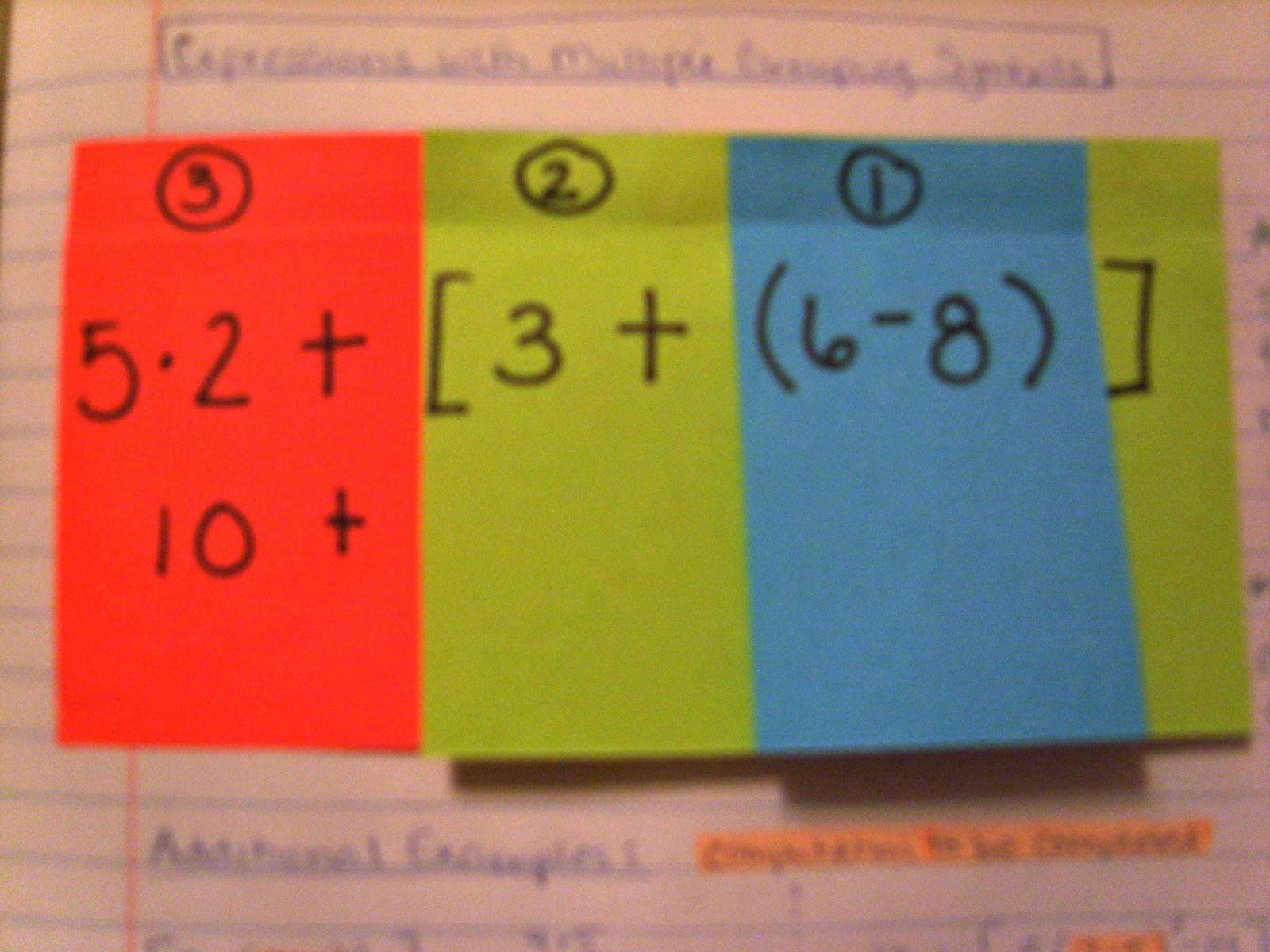 A sea of math order of operations biocorpaavc Choice Image