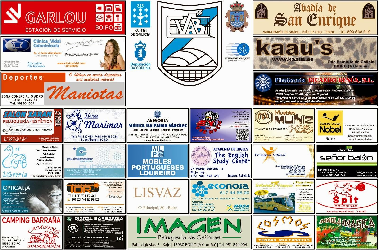 Patrocinadores 2013/2014
