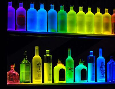 liquor display shelf plans