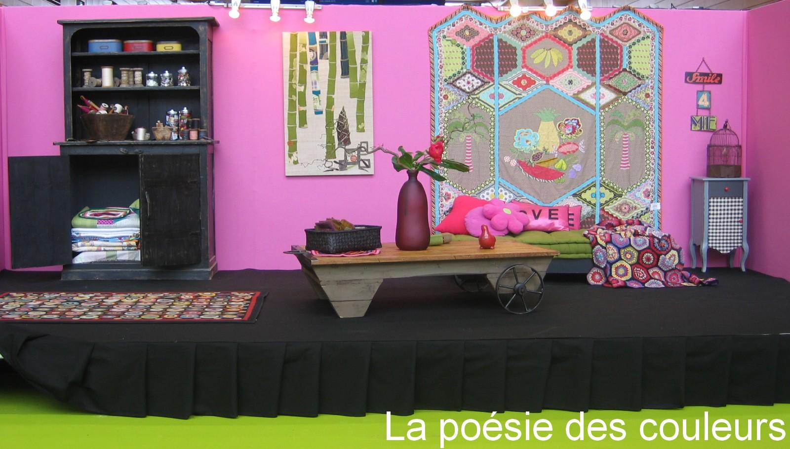 La po sie des couleurs salon pour l 39 amour du fil 2012 for Salon nantes