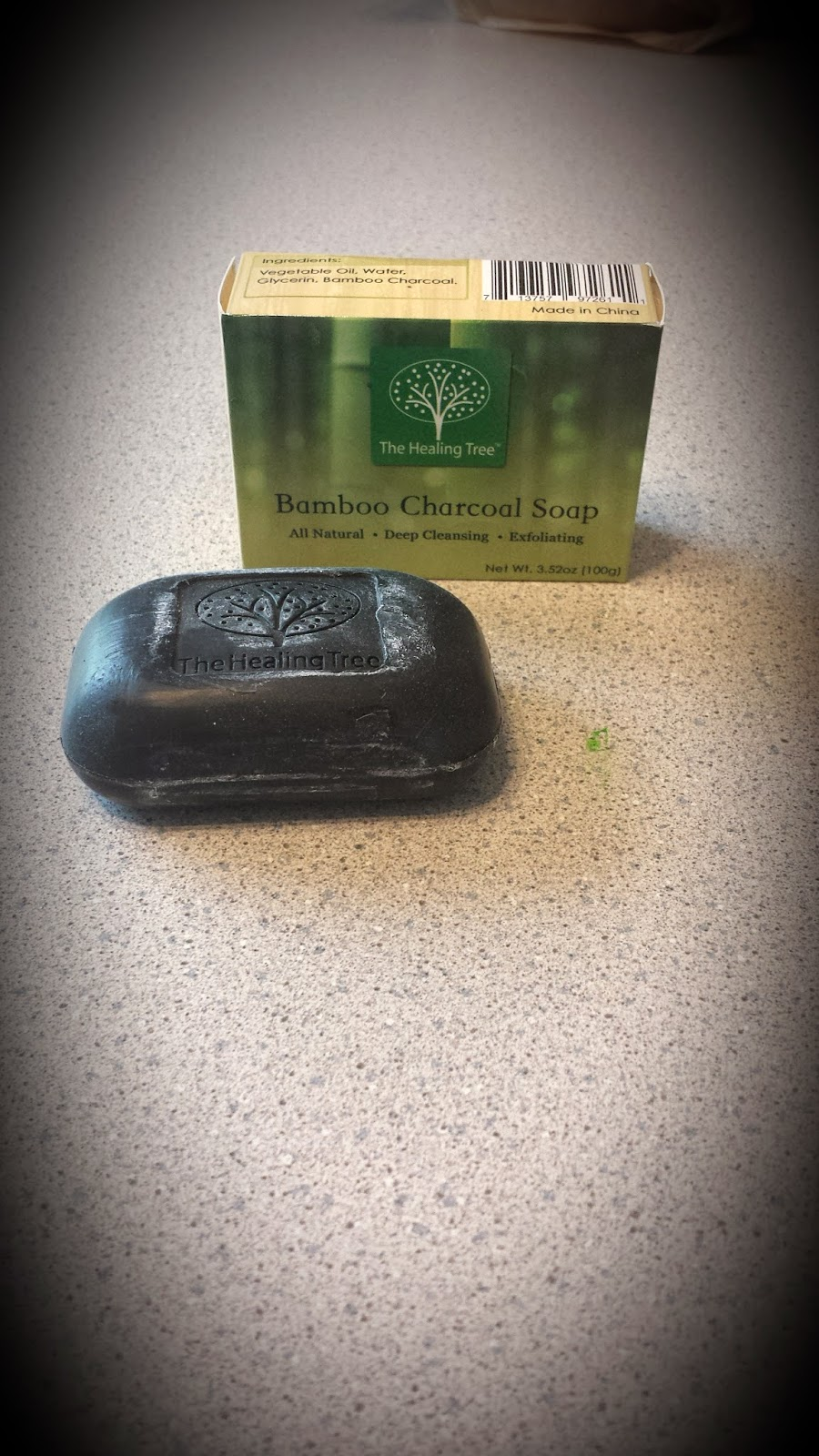 Guest Post: Healing Tree Bamboo Charcoal Soap Review & Giveaway - 5/29