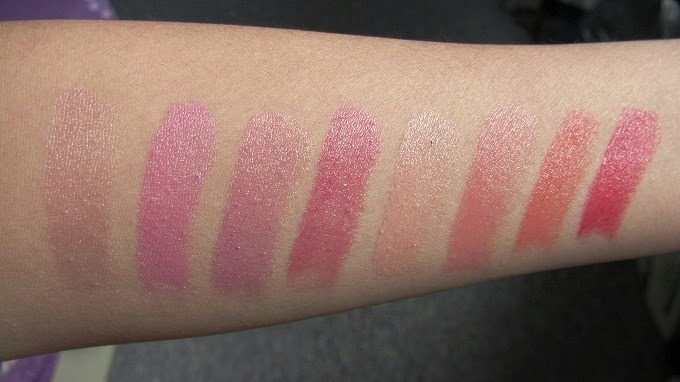 revlon lip butters swatches