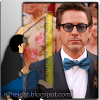 What is the height of Robert Downey Jr.?