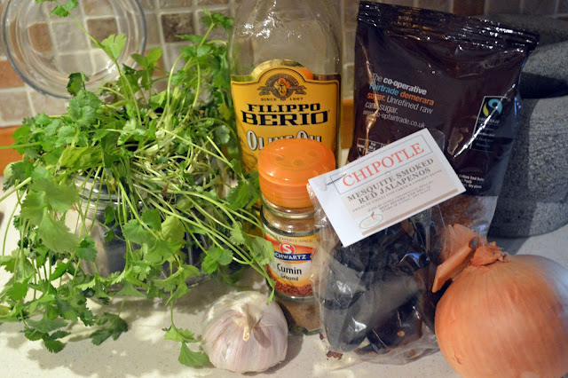 Chipotle steak marinade ingredients