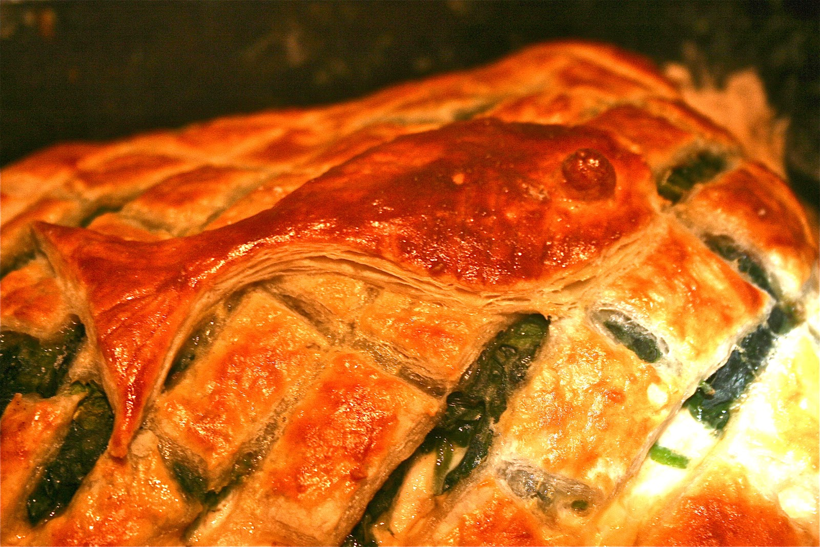 Salmon En Croute I Was Thinking What I Could Make And Saw This Rather  Retro Dish On The Good Food Show Cooked By The Master Michelle Roux So I  Thought I