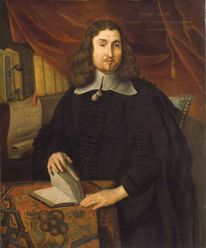 John Cotton Minister England Colonial: Heavenly Worldliness: CYSK 01 John Eliot